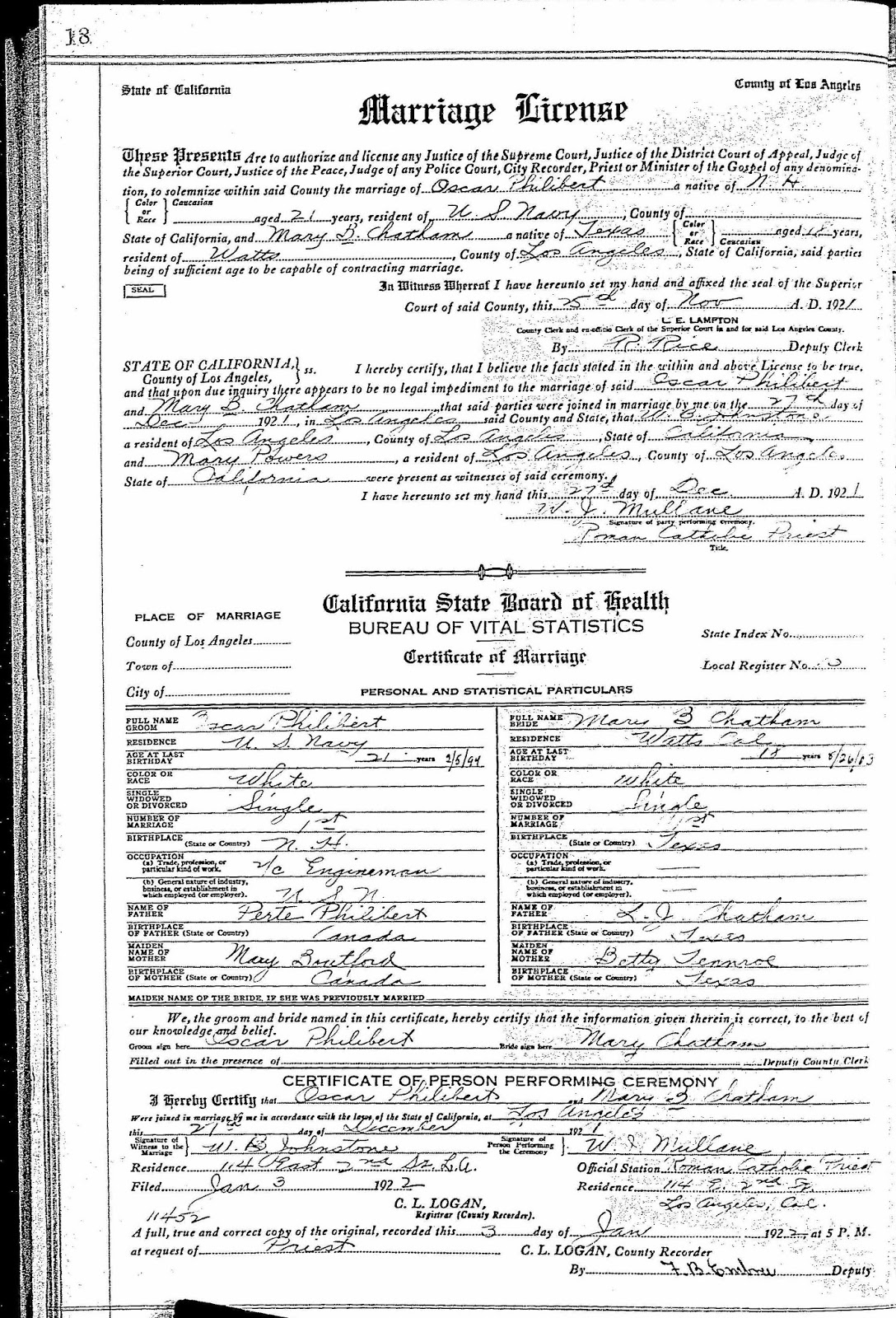 Genas genealogy march 2018 now an official marriage certificate isnt the only type of certificate you might find as a home source a decorative marriage certificate that may have 1betcityfo Image collections