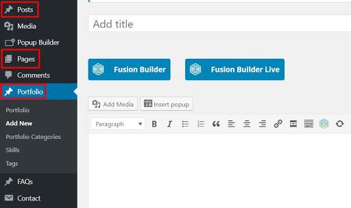 portofolio wordpress