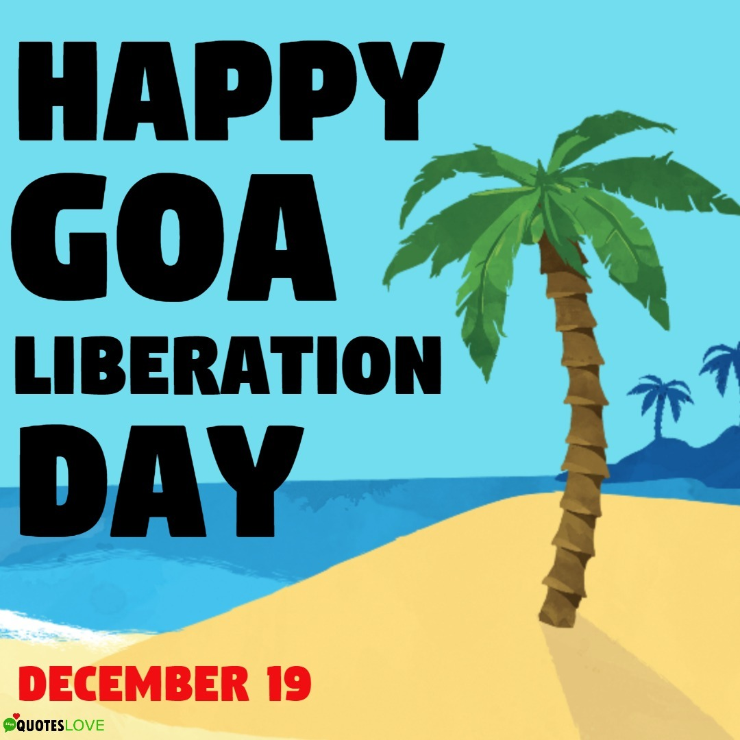 Goa Liberation Day 2019 Images, Poster