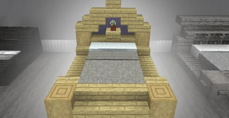 Minecraft: How to Create a Bed for Your Shelter