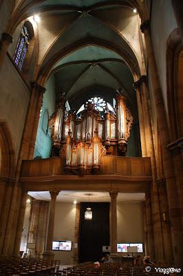 Gli interni della Cattedrale di Colmar