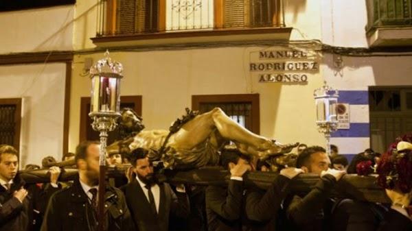 Horario e Itinerario Vía Crucis de la Hdad Pasion y Muerte de Sevilla