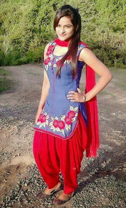Simple Punjabi Girl Photo