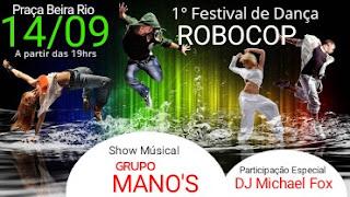 """1°Festival de Dança em tributo ao saudoso """"ROBOCOP"""" em Registro-SP"""