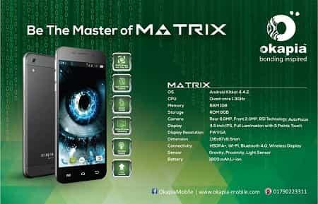 Okapia Matrix Smartphone