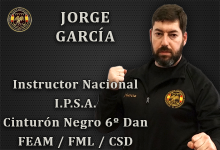 JORGE GARCIA INSTRUCTOR NACIONAL IPSA INTERNATIONAL POLICE AND SECURITY ASOCCIATION IPSA