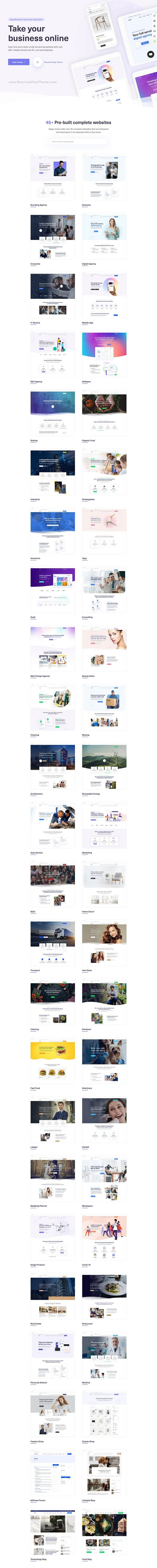 Multipurpose WordPress Theme with Page Builder