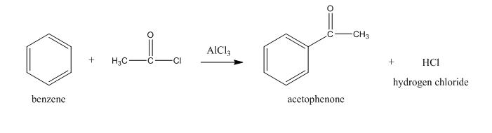 أسيلة البنزين (أسيلة فريدل-كرافتس) Acylation, Friedel-Crafts