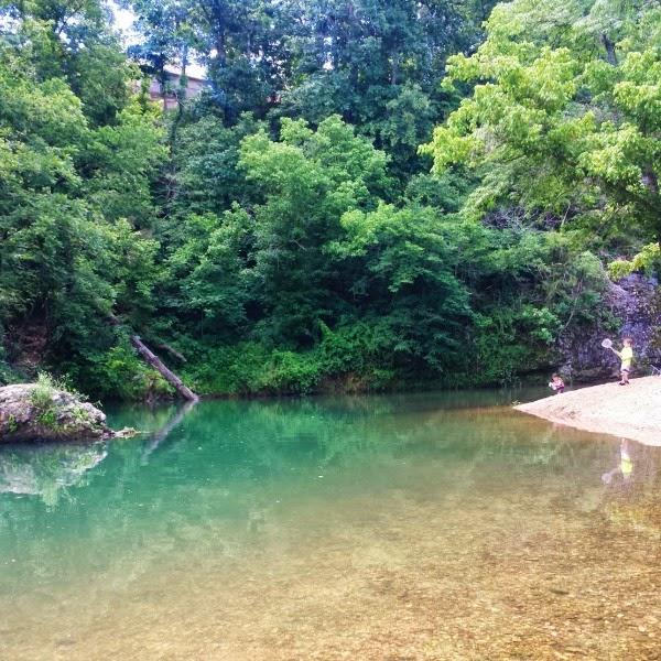 Swimming hole in Northwest Arkansas