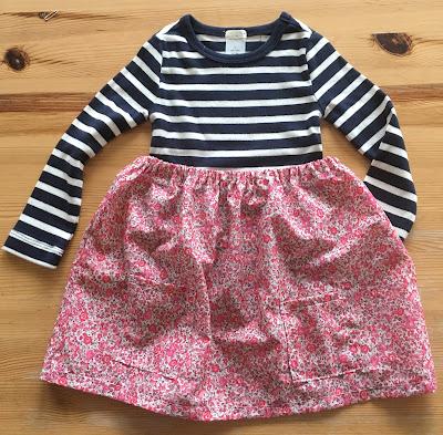 Liberty of London fabric dress