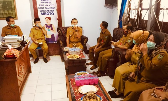 Kunjungi DPPPA, Wakil Walikota Bima Disambut Hangat Jajaran Pegawai
