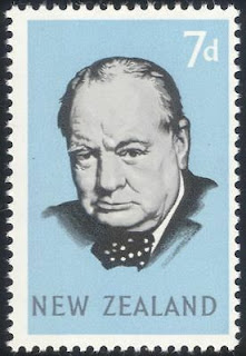 New Zealand 1965 Sir Winston Churchill