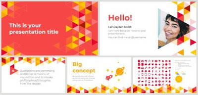 PowerPoint-Template-Triangle
