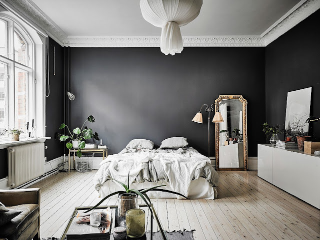 Elegant Black Walls 1