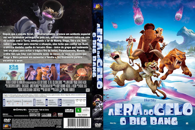 Capa DVD A Era Do Gelo O Big Bang