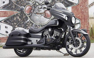 Indian Chieftain Dark Horse launched in India