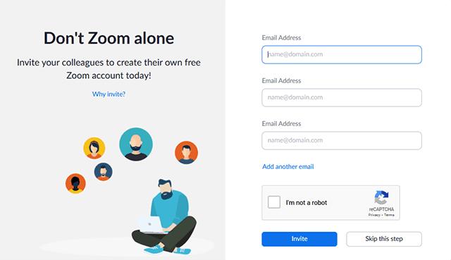 Cara Membuat Akun Zoom Meeting Melalui Situs Resmi