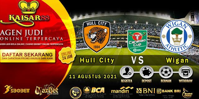 Prediksi Bola Terpercaya Liga EFL Hull City vs Wigan 11 Agustus 2021