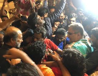 Super Star Rajinikanth Returns Chennai images,Super Star Rajinikanth Returns Chennai pic