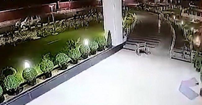 CCTV Rakam Hantu naik kerusi roda di hospital