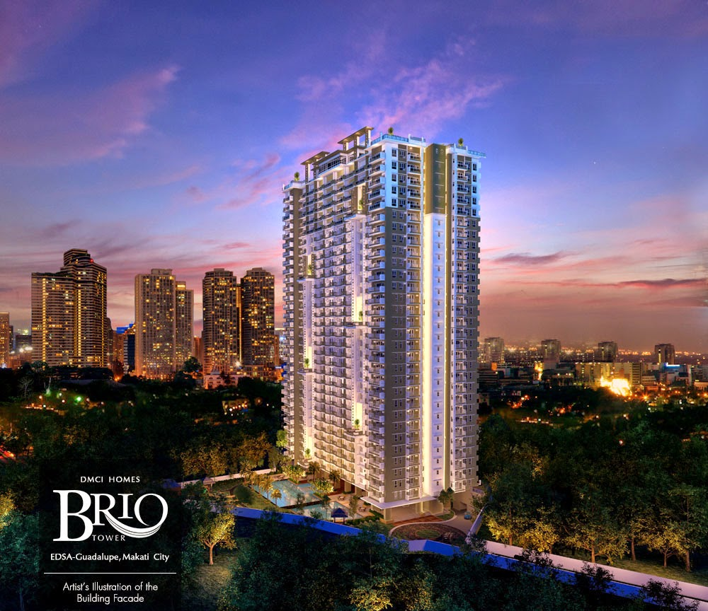 Brio Tower Building Facade