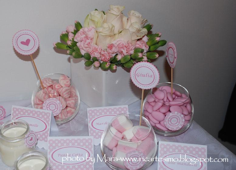 Conosciuto Incartesimo: Il tavolo dei dolci per Giulia TZ49