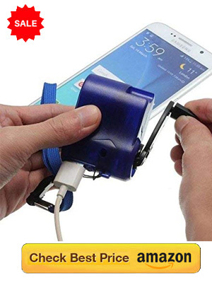 Mobile hand charger: Learn to Charge Phone without electricity