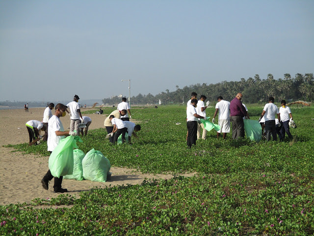 Aksa Beach Clean-up Initiative by The Resort