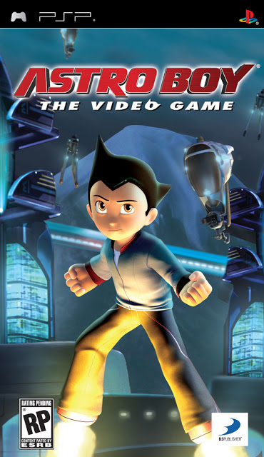 Astro Boy - The Video Game - PSP - ISO Download