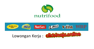 loker nutrifood indonesia