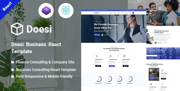 Best Business React Template