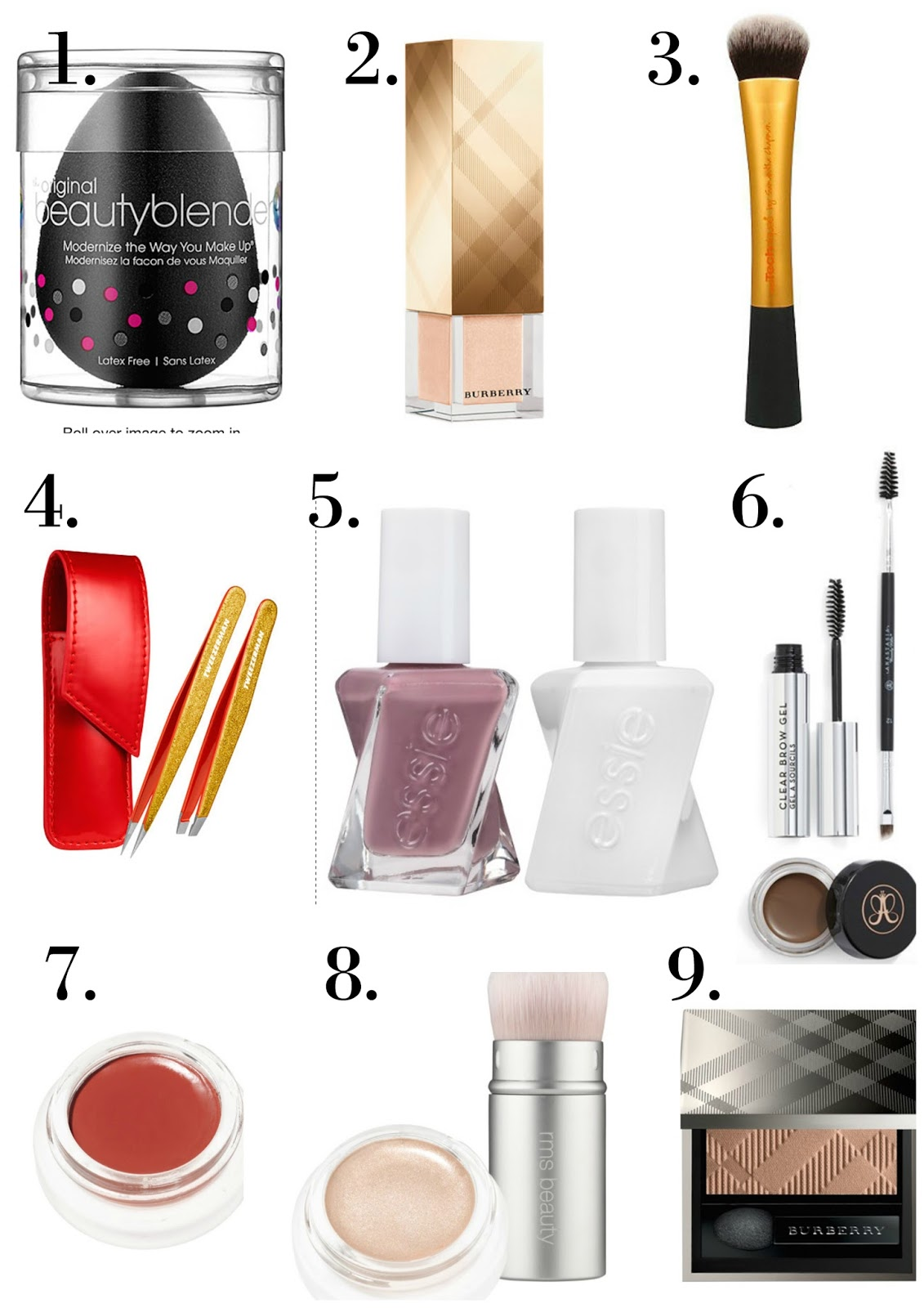 gift ideas beauty and makeup