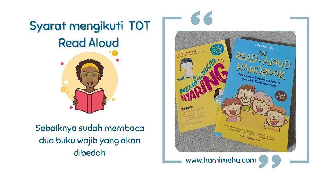 Syarat TOT read Aloud