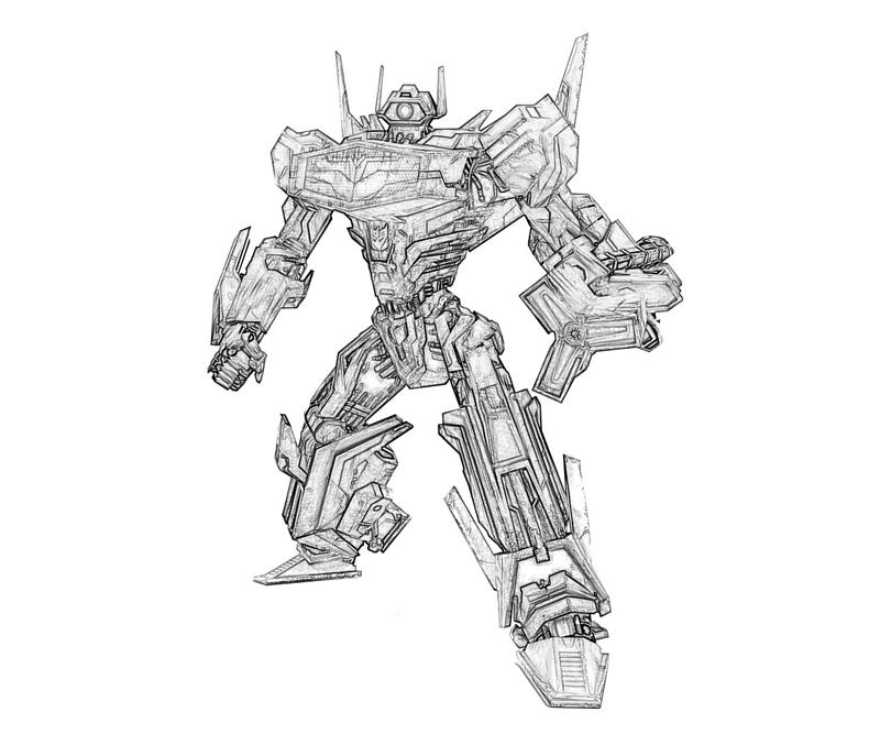 transformers 3 shockwave coloring pages | Shockwave In Transformers Dark Of The Moon - Free ...