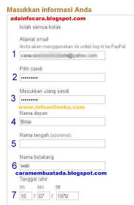 Formulir Pendaftaran 1