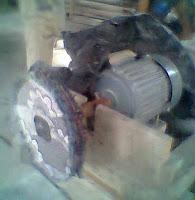 Mesin slab untuk mengkilapkan resin