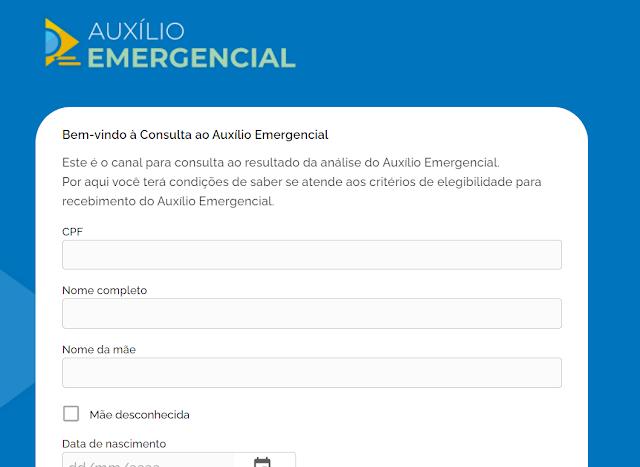 Baixe aqui o informe de rendimentos do Auxilio emergencial recebido em 2020