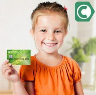 Где завести кредитную карту ребенку