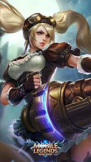 Layla Malefic Gunner Heroes Marksman of Skins V1