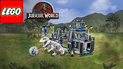 Dinosaur Coloring City Lego dinosaurs Jurassic World Indominus Rex Breakout 75919 construction Kit