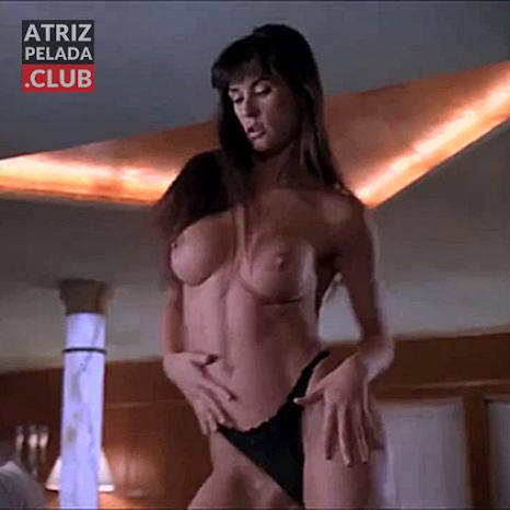 Demi Moore PEITUDA MUITO GOSTOSA NUA em cena de filme