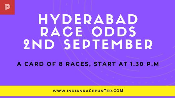 Hyderabad Race Odds 2nd September