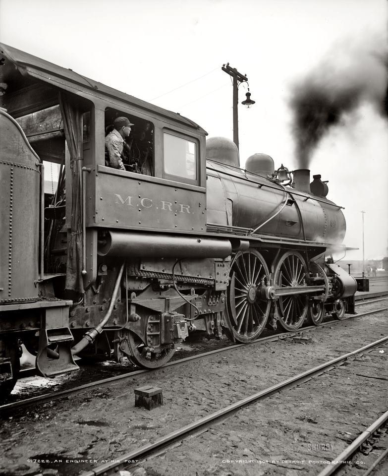 Detroit Wallpaper Company: Fotograficas Oleograficas: En El Tren