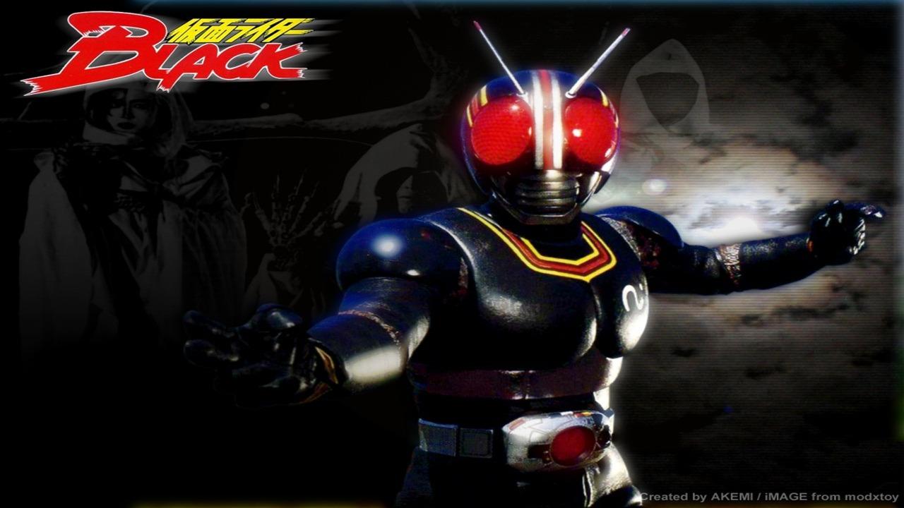 PAPO FURADO: Kamen Rider Black - Uma peça sombria do tokusatsu