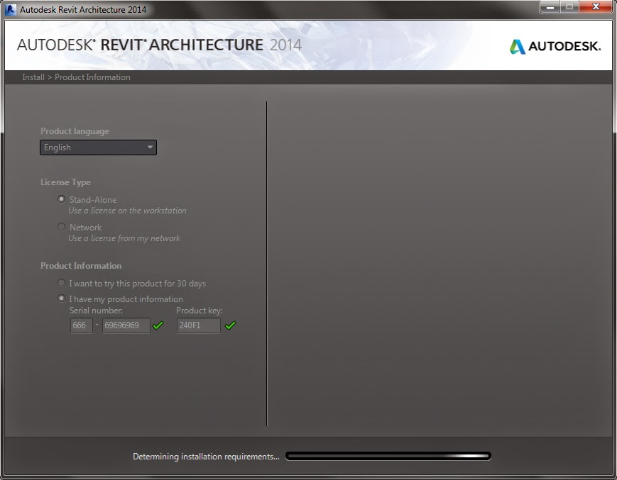 autodesk revit architecture 2014 activation code