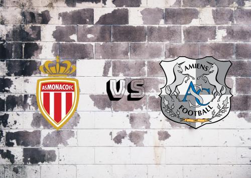 AS Monaco vs Amiens SC  Resumen