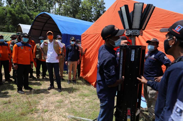Respon Peringatan Bencana BMKG, Jateng Gelar Simulasi Bencana di Kebumen