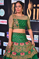 Nandita Swetha in a tight Green Choli Ghagra at IIFA Utsavam Awards March 2017 ~ 009.JPG
