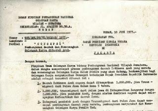 "1 Juta Transmigran Jawa untuk ""Taklukkan"" Aceh"