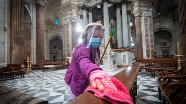 La Catedral de Cádiz, libre de Coronavirus